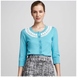 Kate Spade • kati beaded cardigan sweater